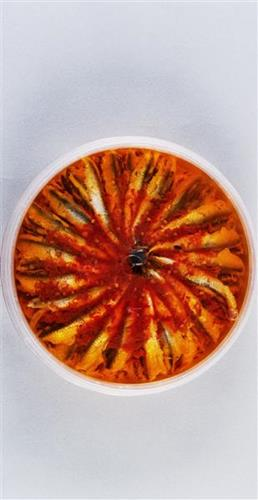 Anchovies with oriental spices