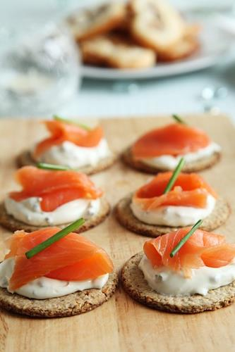 Sliced smoked salmon - Smoked fish