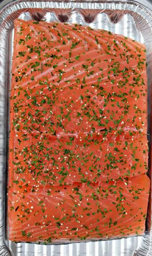 Steaks with spiced salmon - Fresh Fish