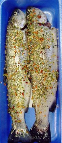 Spiced trout - Fresh Fish
